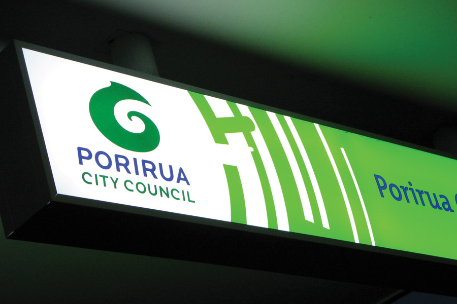 Porirua Illuminated Sign Design