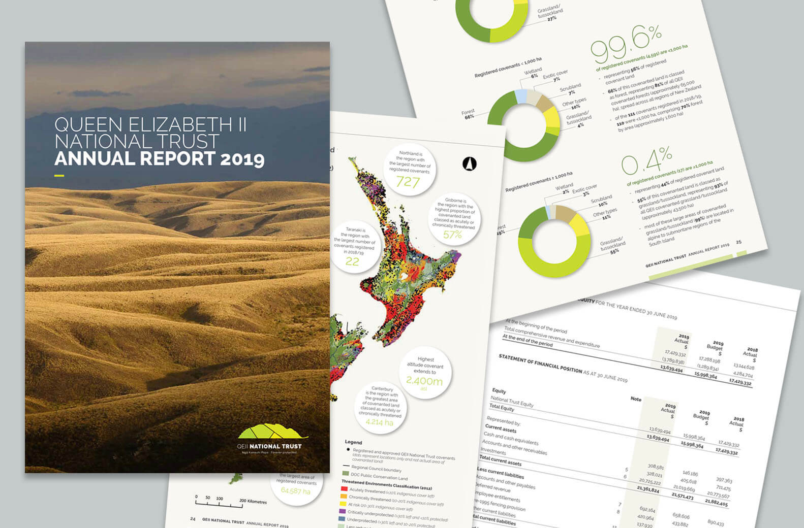 Pages from an Annual Report