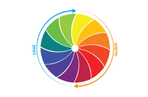 Colour wheel graphic on a white backgroundchrysanthos.com